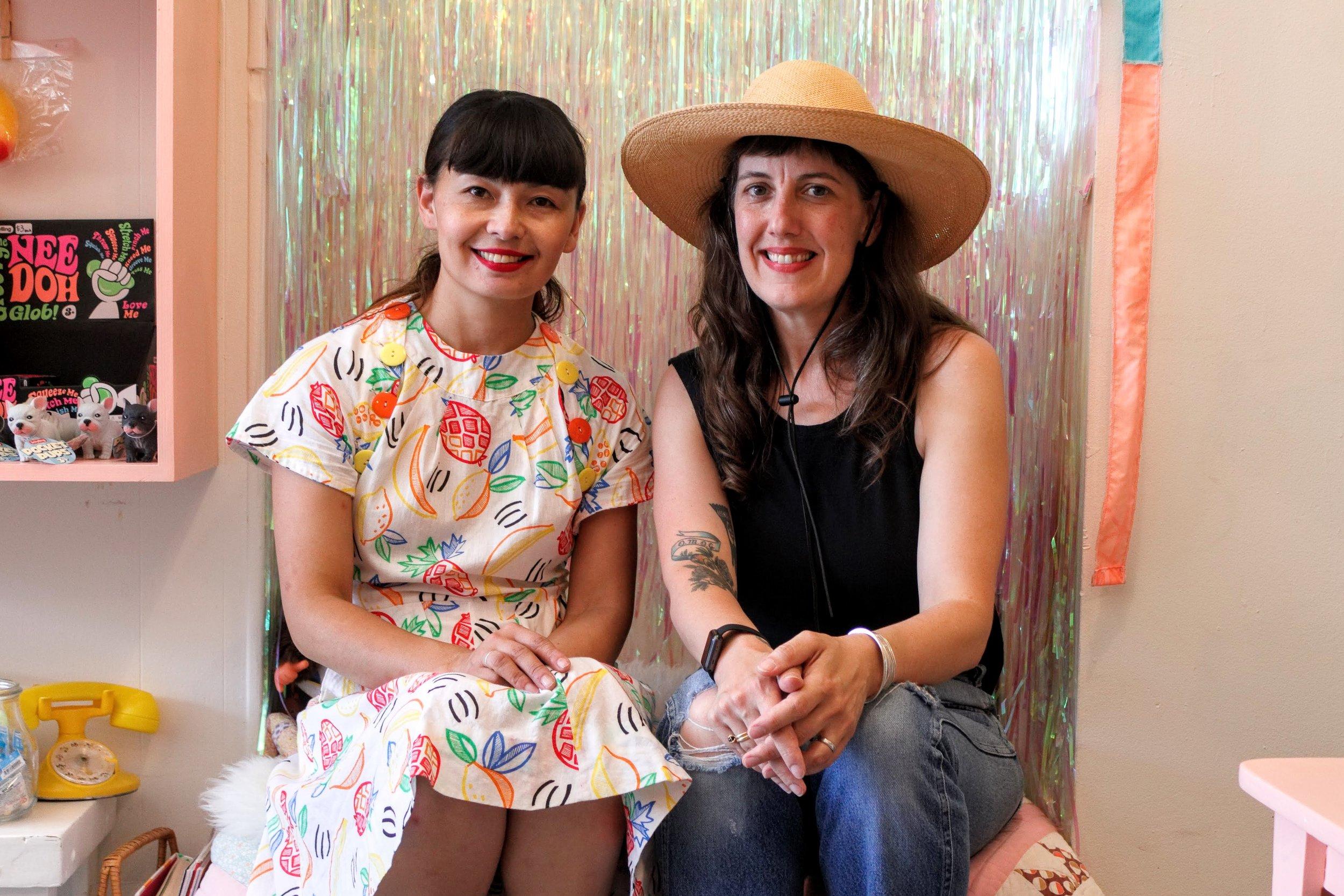 Tammy (left), Erika (right)