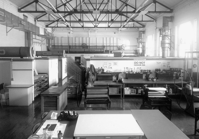 Slice of Heaven Massachusetts College of Art & Design Print Shop 2014 :Boston, MA