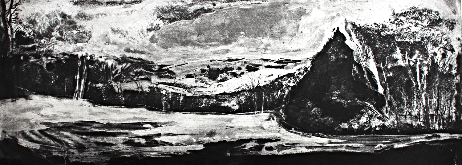 """Berkshire East etching on paper 