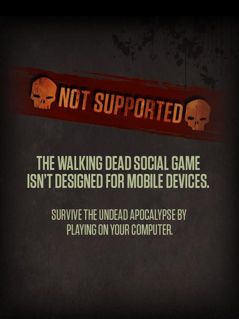 AMC Walking Dead Social Game: Chronicles