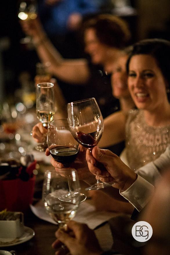 edmonton wedding reception venues wine toasting candid photographers