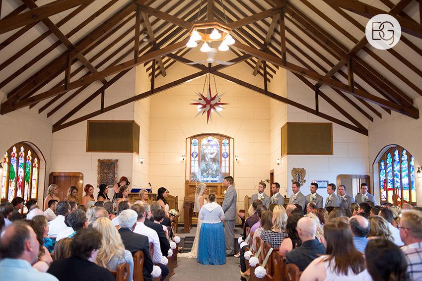 Small town church wedding alberta intimate community wedding photographers