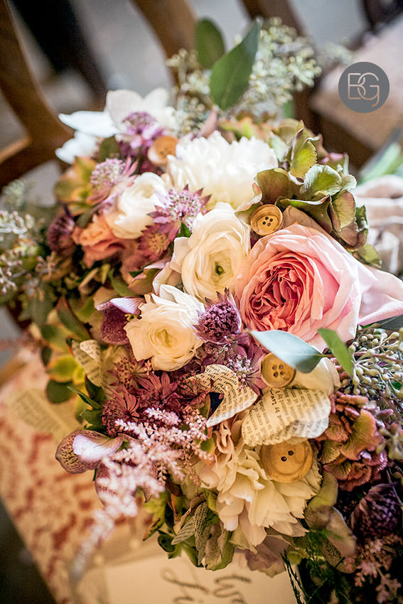 cory christopher florals book theme wedding
