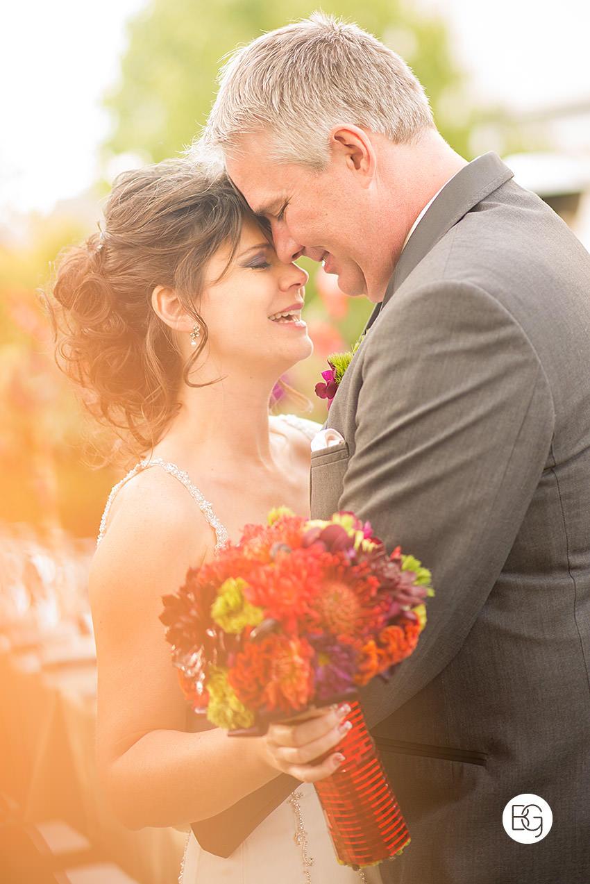 backyard wedding in edmonton intimate family