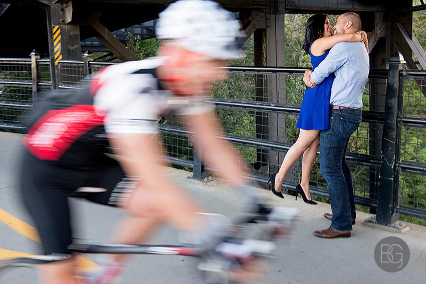 High level bridge engagement photo
