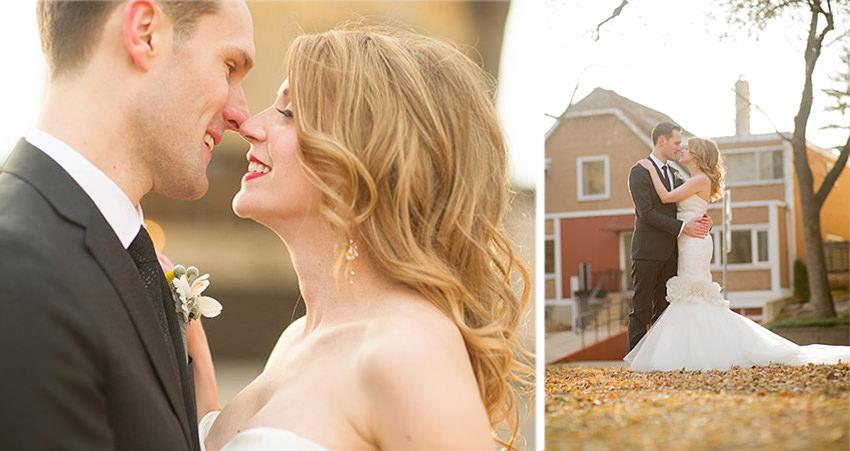 autumn wedding in Edmontn