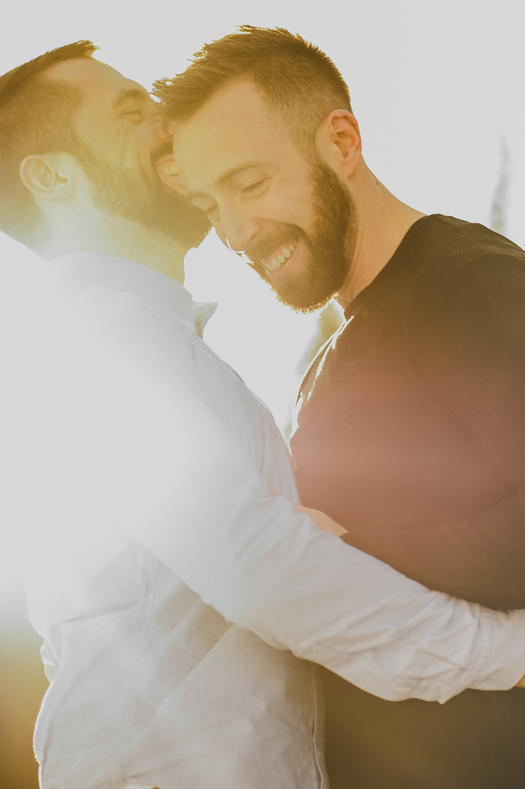canmore gay LGBTQ engagement wedding photographer