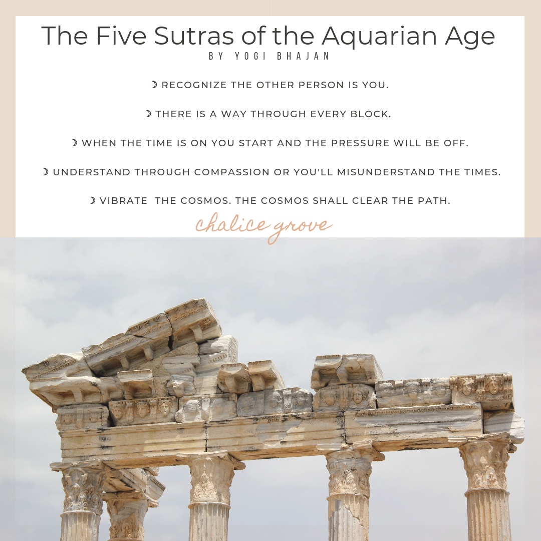 5 Sutras