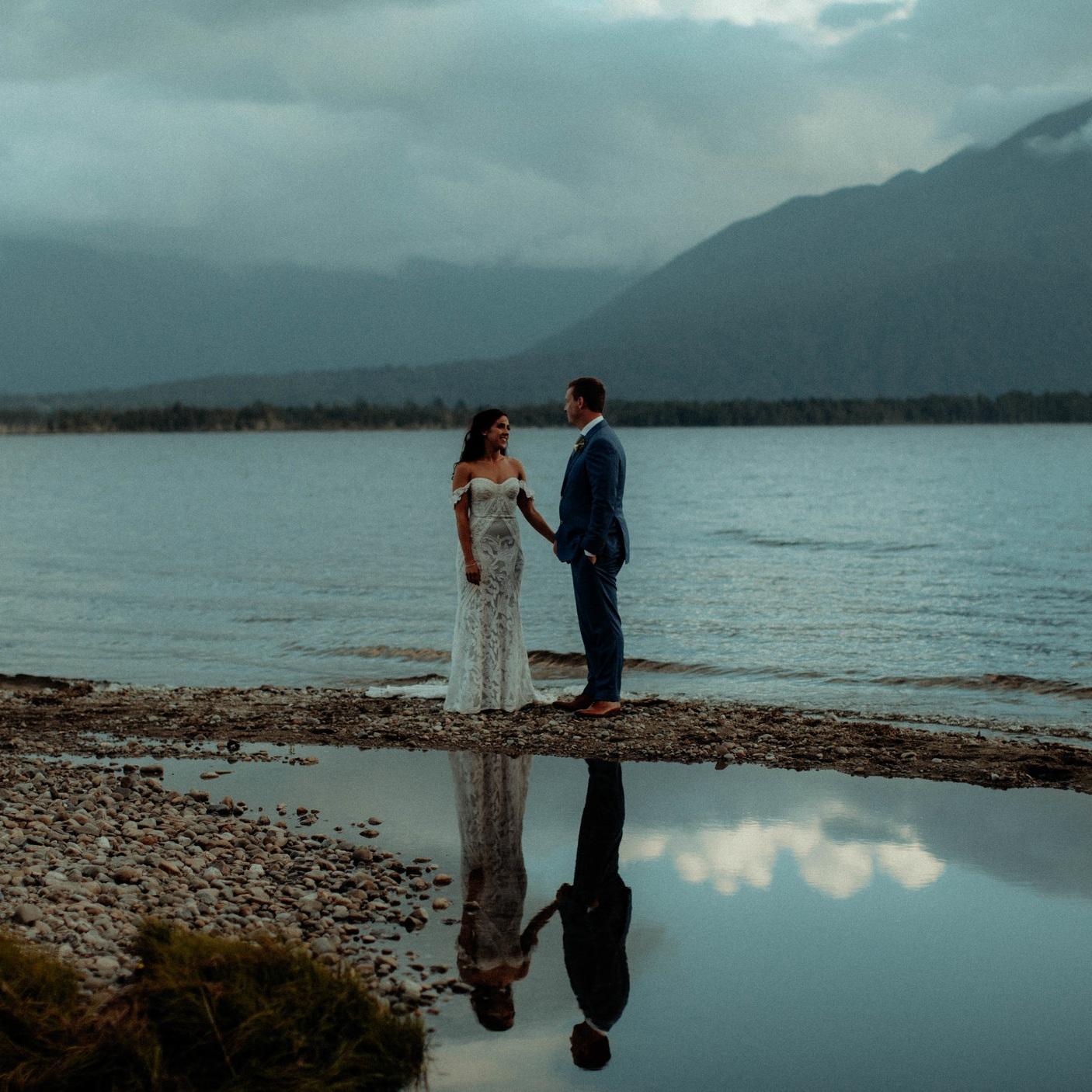 Robbie & Chelsea - Lake Brunner, New ZealandVideo