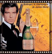 007 Bond Bollinger film champagne