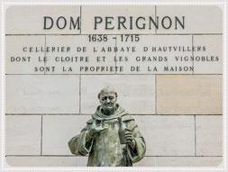 Champagne historia och kuriosa . Pierre Pérignon – Dom Pérignon