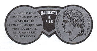 Medaille Napoleon Champagne-Jacquesson