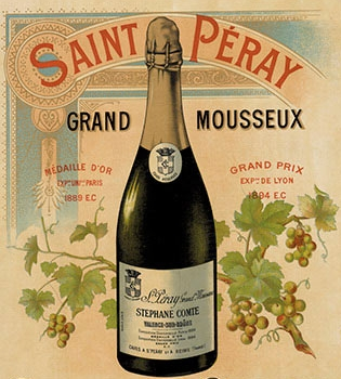 Sabrera Saint-Peray... var inget för  Napoléon ...