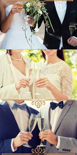 Köp bröllopspresent 550 kr p.p.