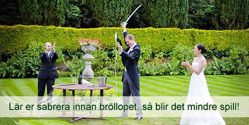 Boka sabreringskurs innan bröllopet !