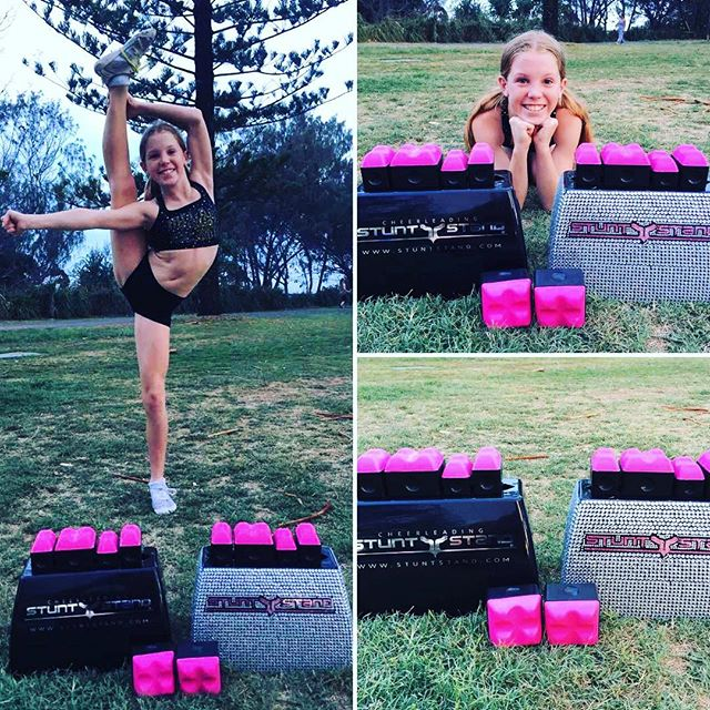 MEGA EXCITING NEWS!!!!!!! The perfect gift for your cheerleader this Christmas!!!!! Our Mega Dad... Steve Harper now has the EXCLUSIVE RIGHTS for Australia and Asia to sell the all AMAZING STUNT STANDS!!! Order yours now through Orders@stuntstand.com or call Steve on 0405315135!!! They can be picked up from Miami or Burleigh between 9am-5pm and are available from tomorrow (Thursday) morning!!!! Whoop whoop!!!!!