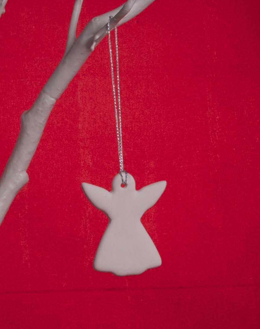 Handmade White Clay Angel - £2.50 each or 5 for £10 + p&p