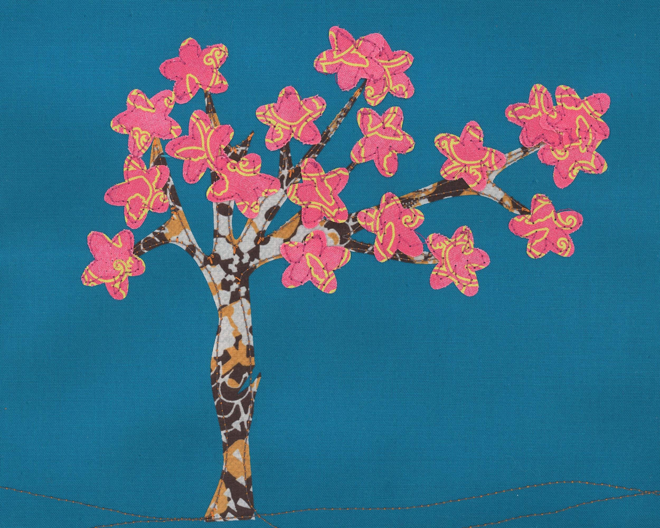 Cheery Cherry Blossom - £35 + p&p