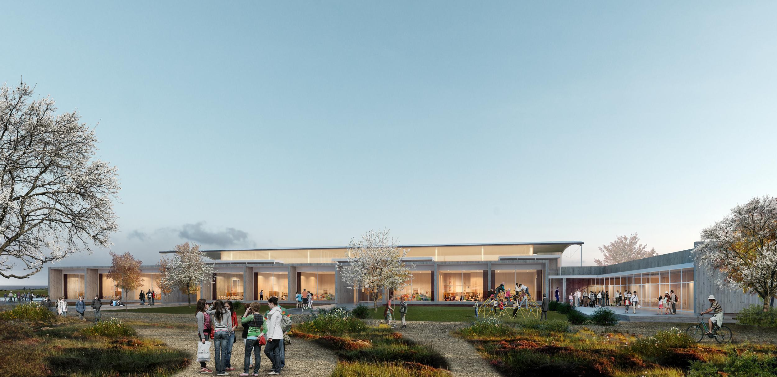 Architectual Competition - Ogna Skole