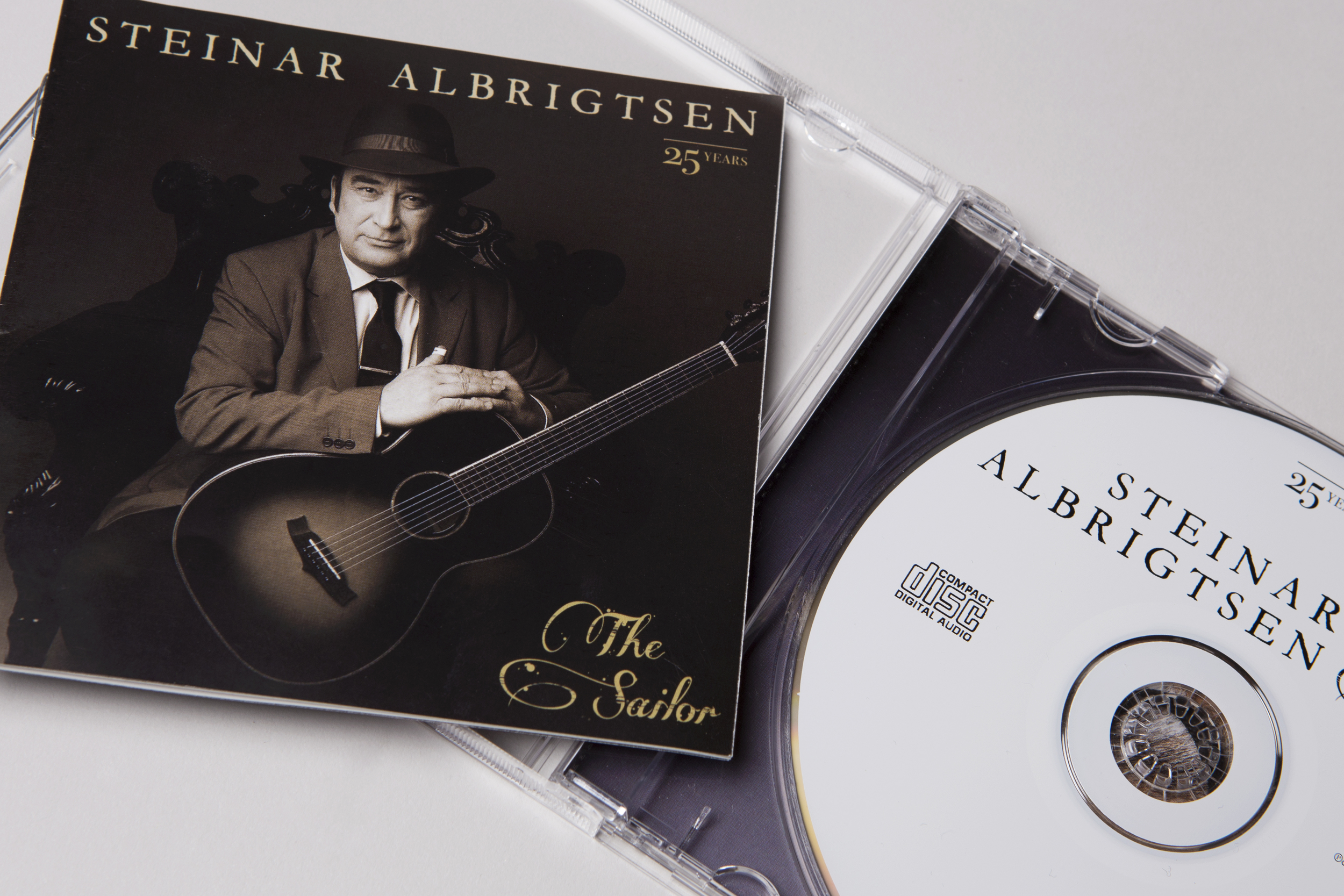 Coverfoto - Steinar Albrigtsen - The Sailor