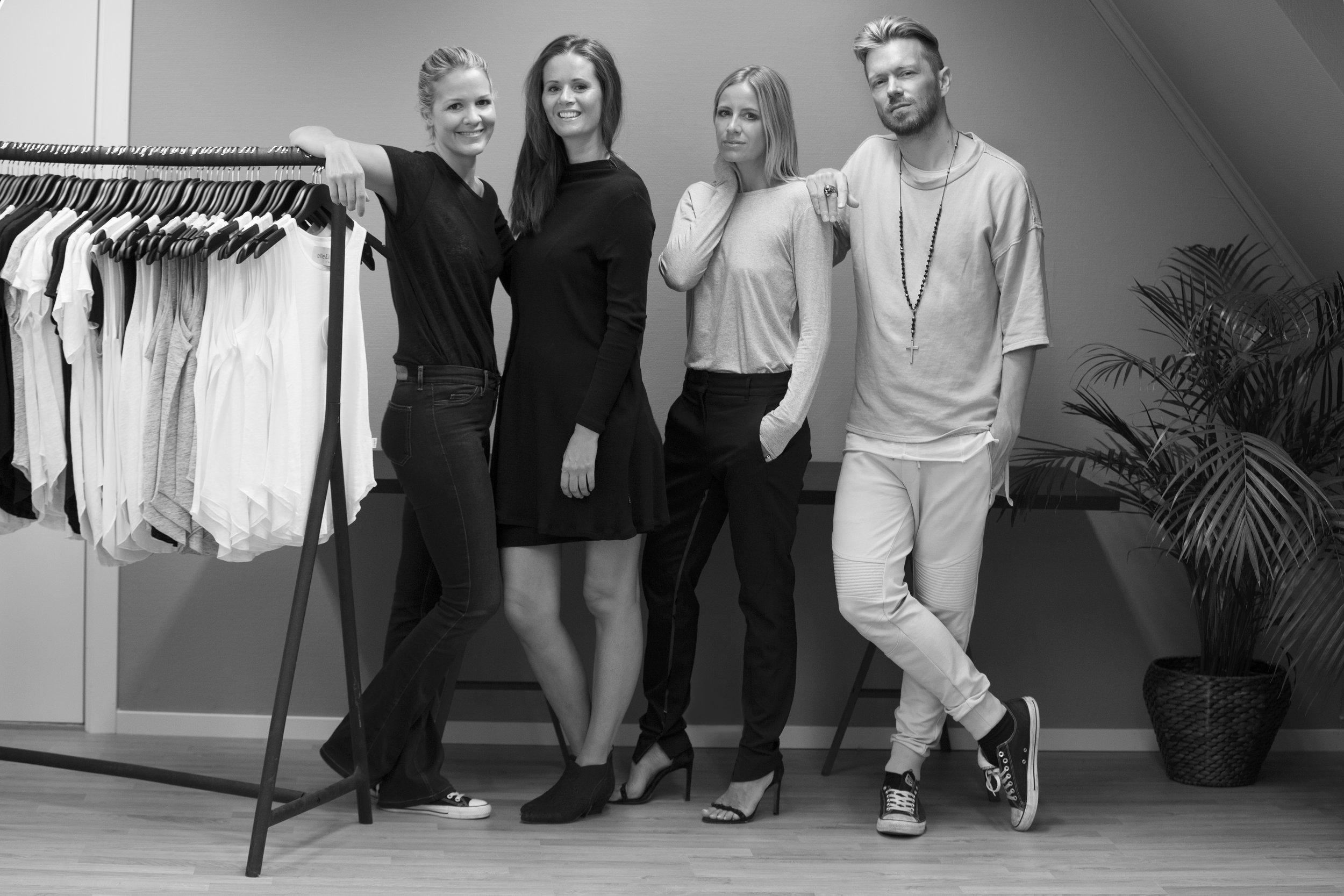Pressefoto for samarbeidet mellom elle&il, Celine Aagaard og Raykay