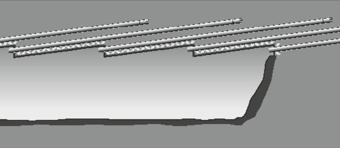 Singel överliggande - AT Längdprofil