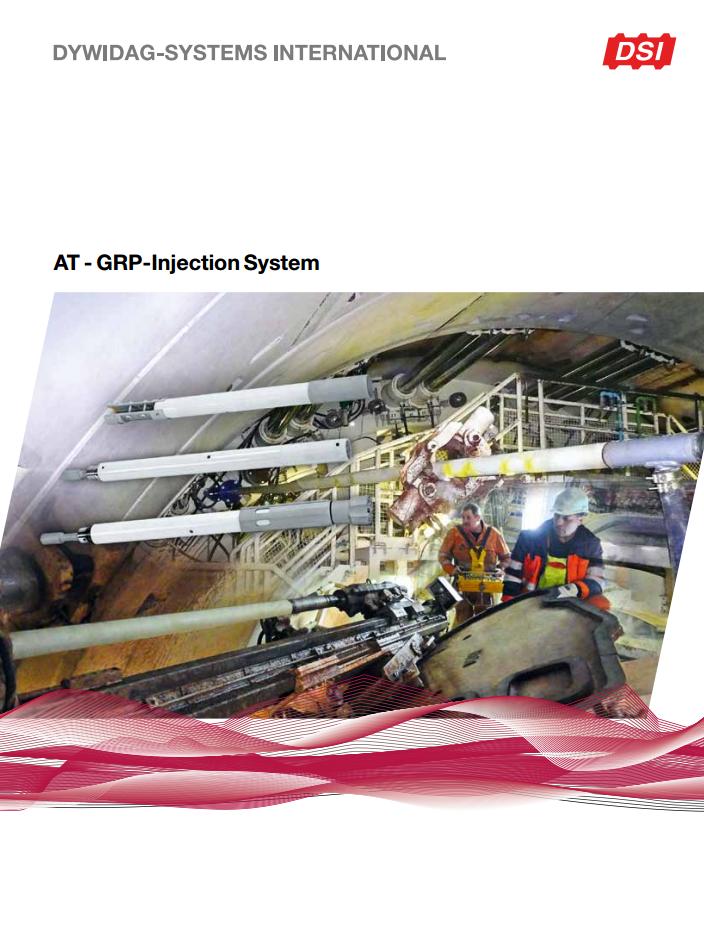 AT-GFK Injekteringssystem - vid användning av TBM