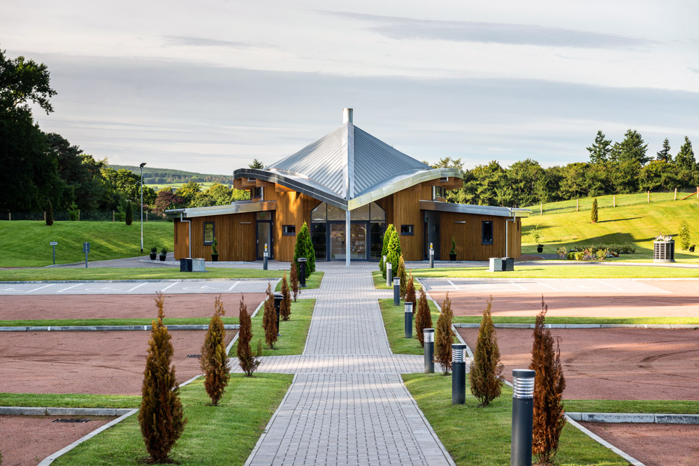 Baldarroch Crematorium | WCP Architects | Crathes, Aberdeenshire