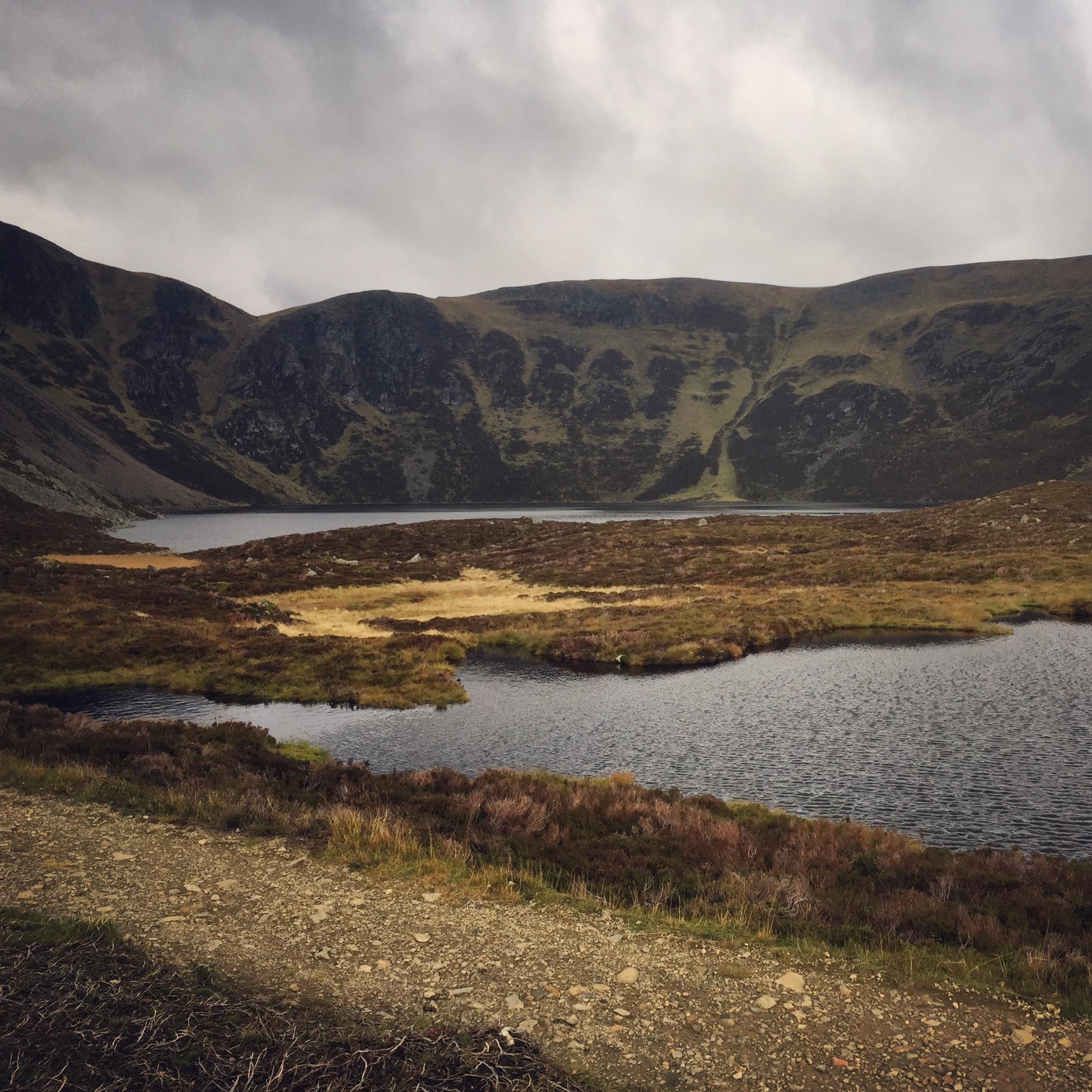 Loch Brandy at Glen Cova (by me).