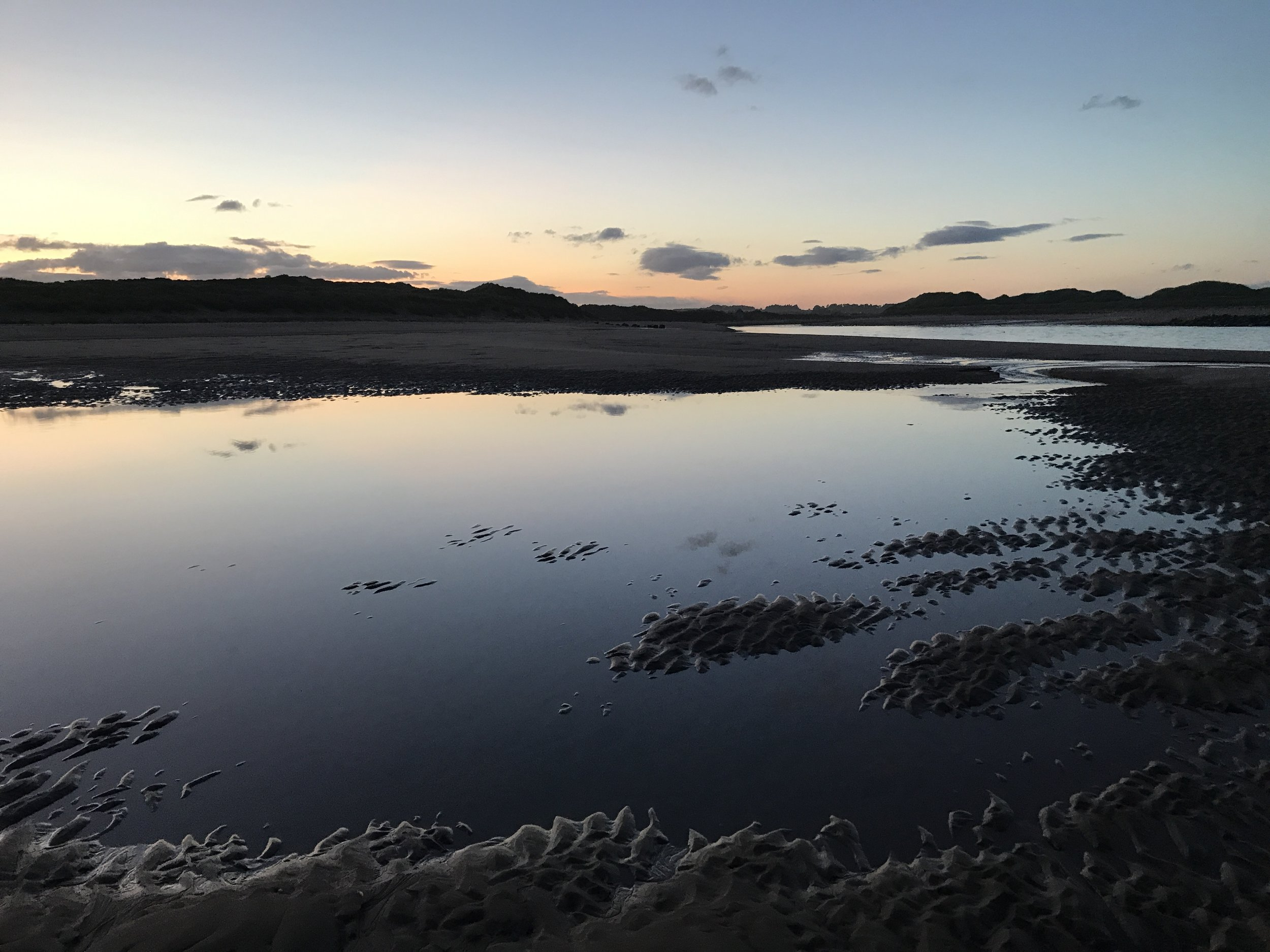 Sunset at Newburgh beach / Ythan estuary.