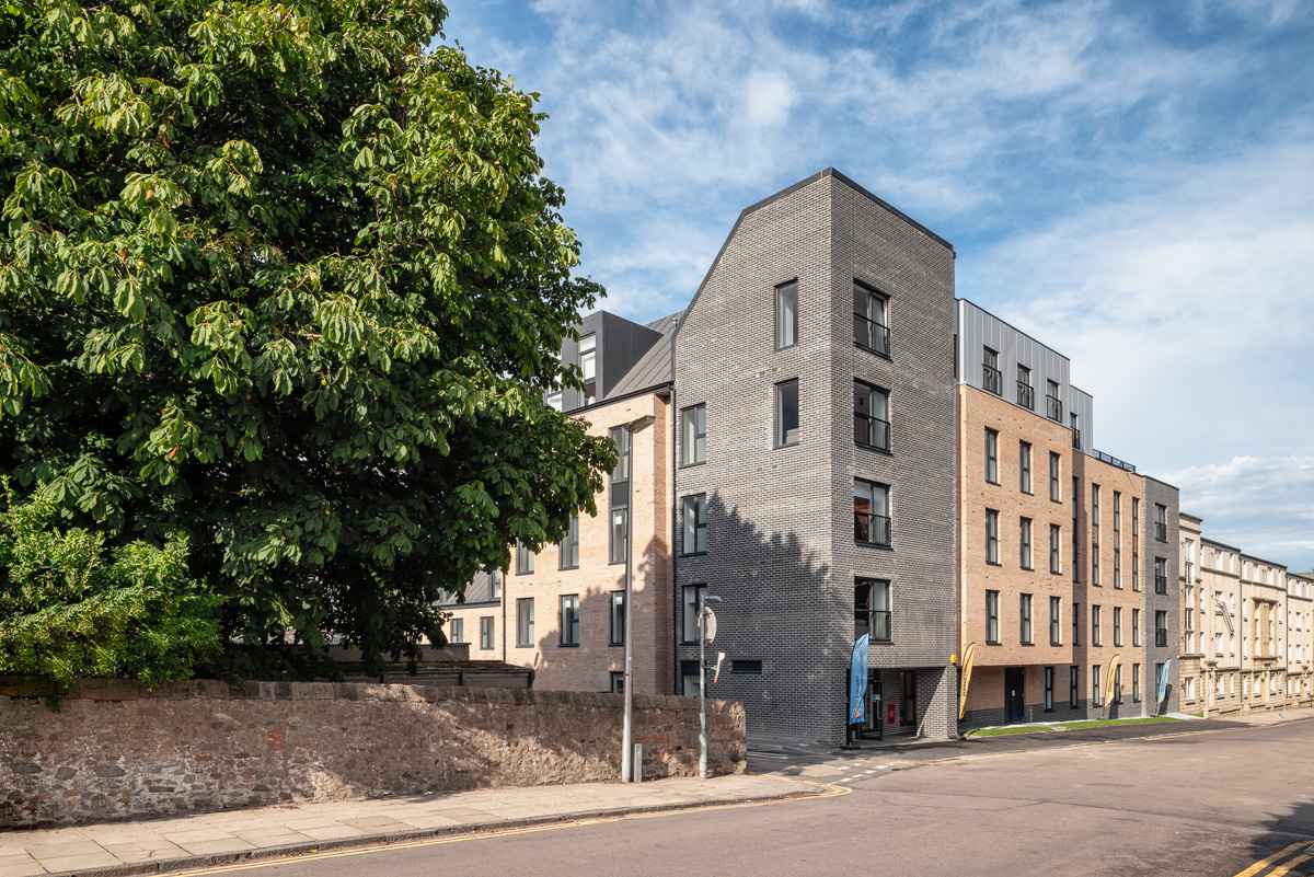 Student Accommodation | Robertson Construction | Pittodrie St., Aberdeen