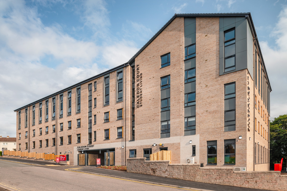 Student Accommodation | Robertson Construction | Caledon Court, Aberdeen