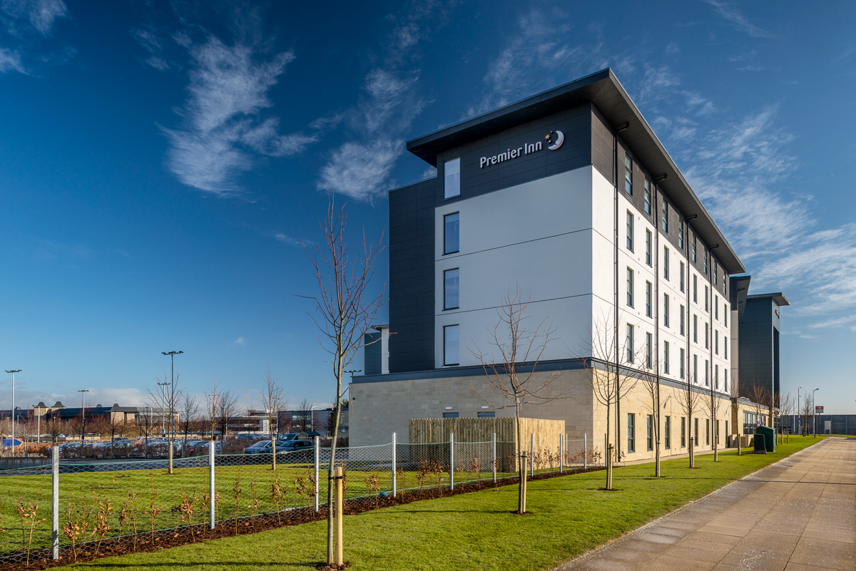 Premier Inn | Ogilvie Construction | Edinburgh