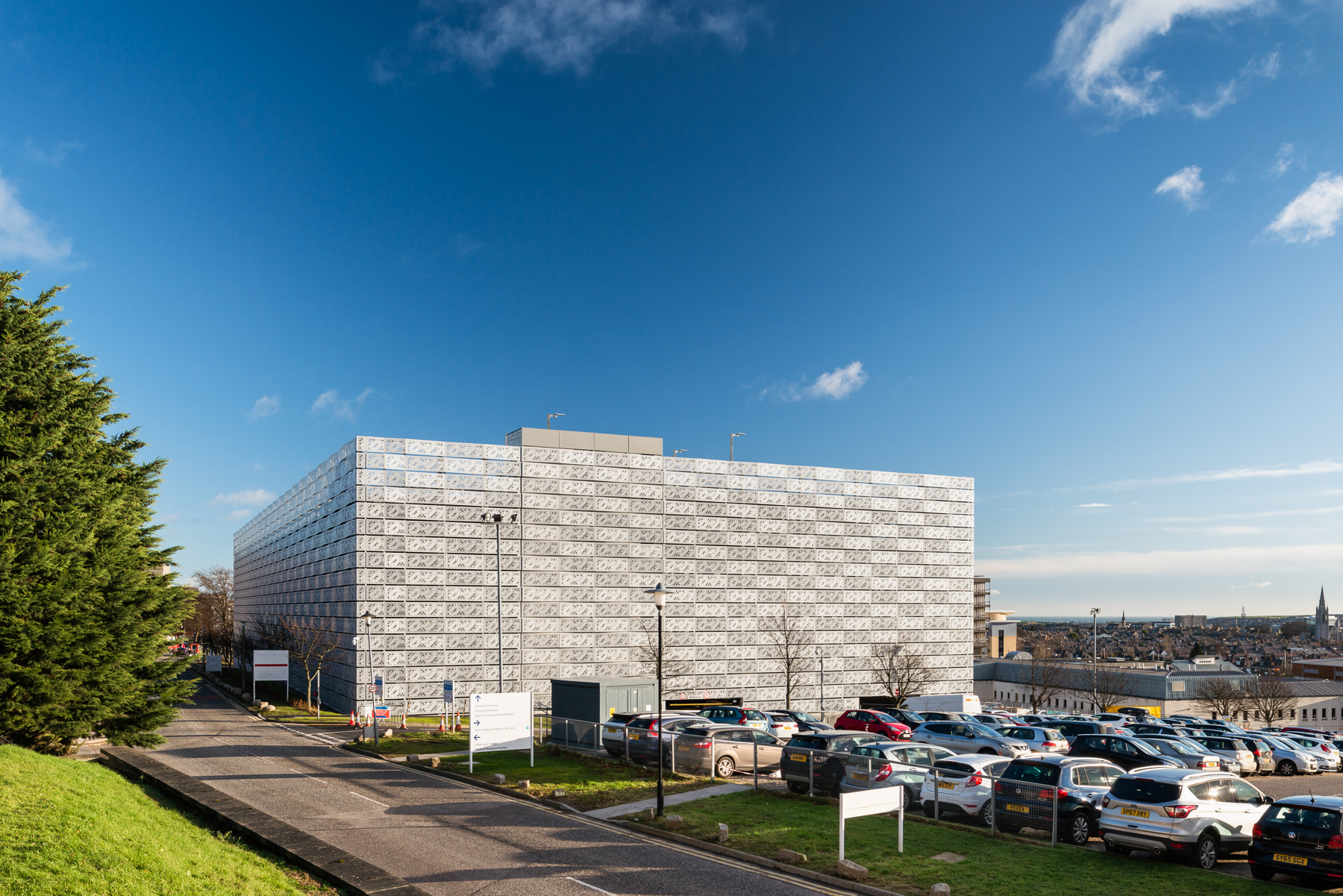 MSCP at Aberdeen Royal Infirmary | JM Architects | Aberdeen, Scotland