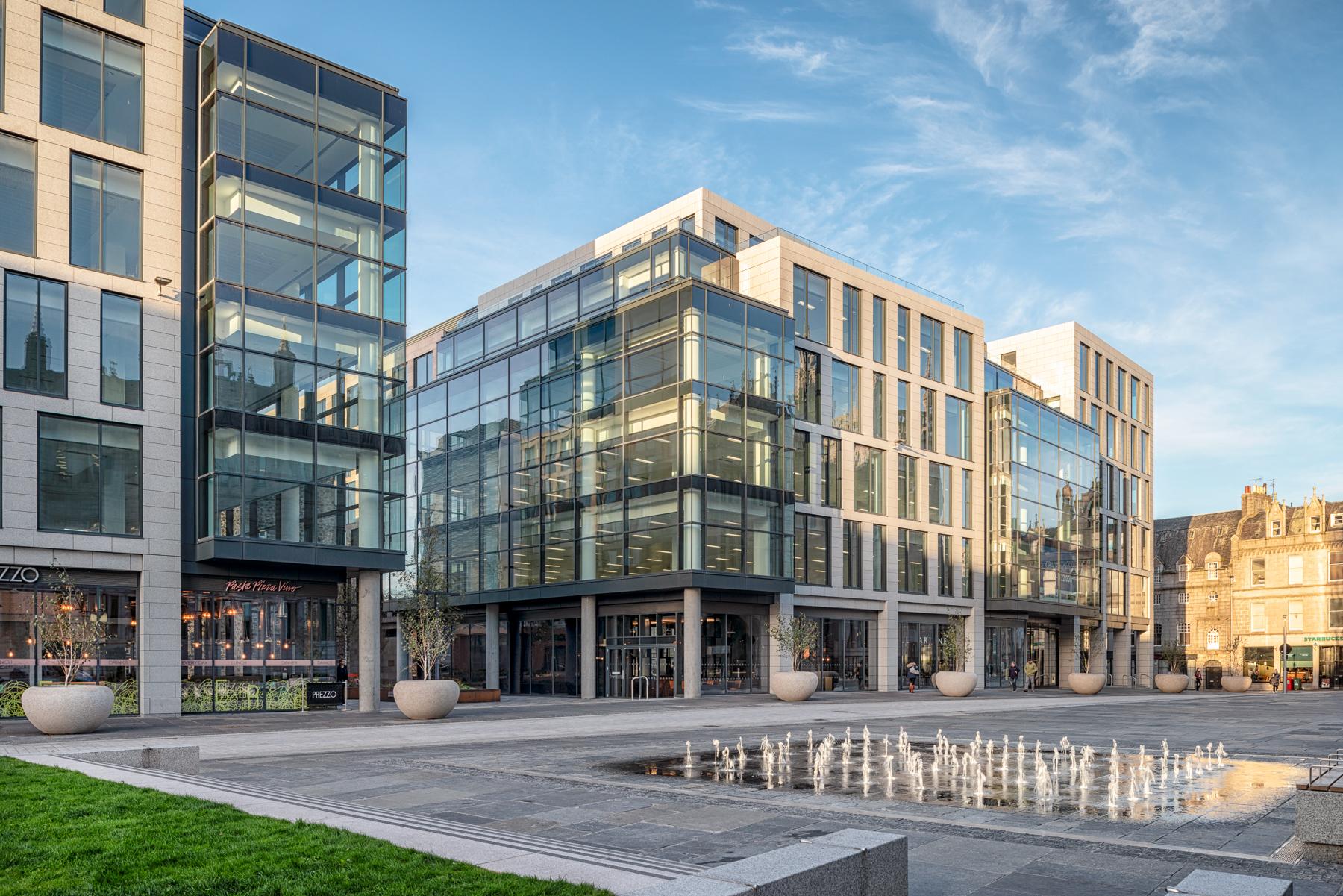 Marischal Square | Muse Developments Ltd | Aberdeen, Scotland