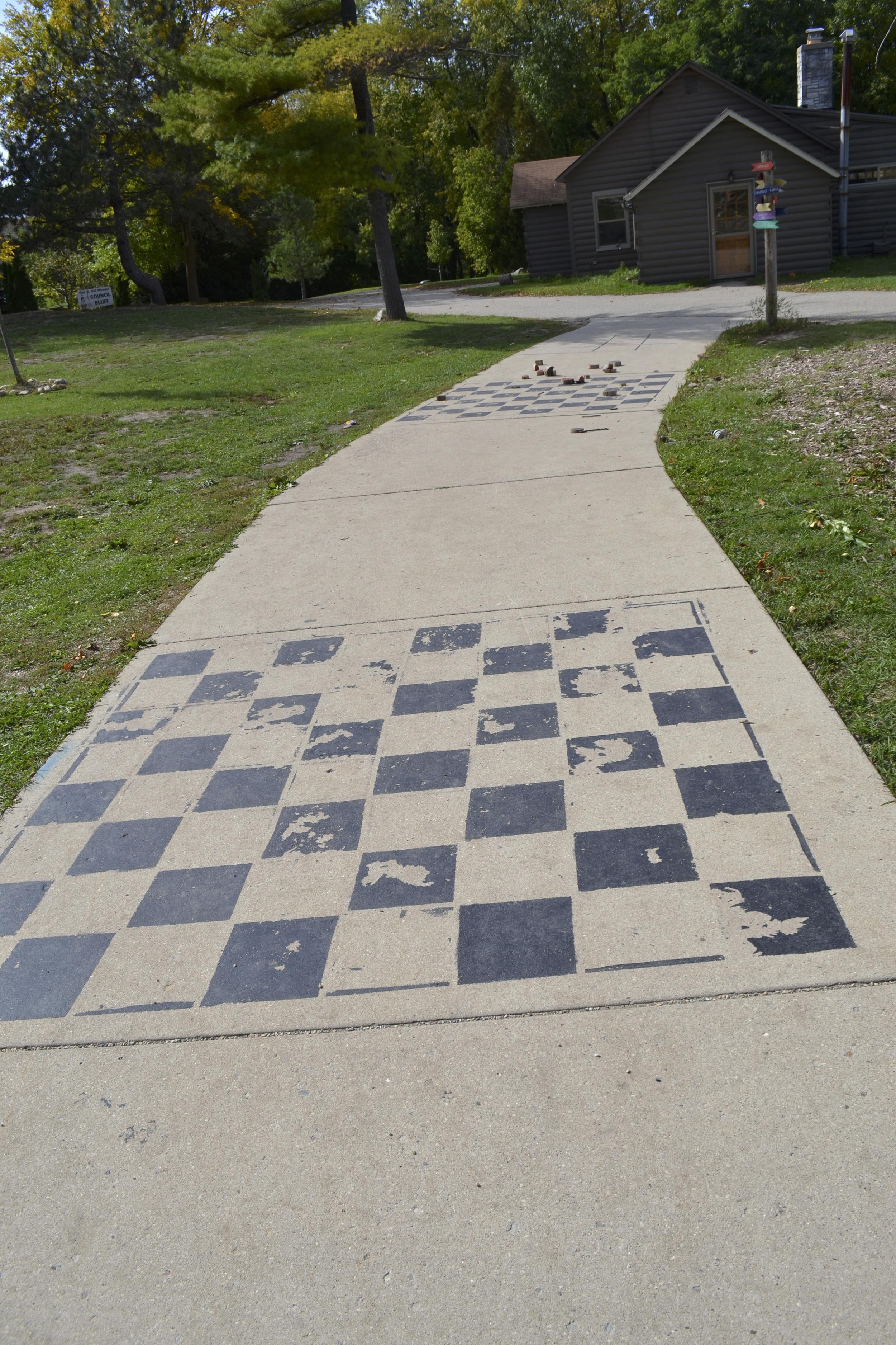 YMCA Camp Minikani Checker Board
