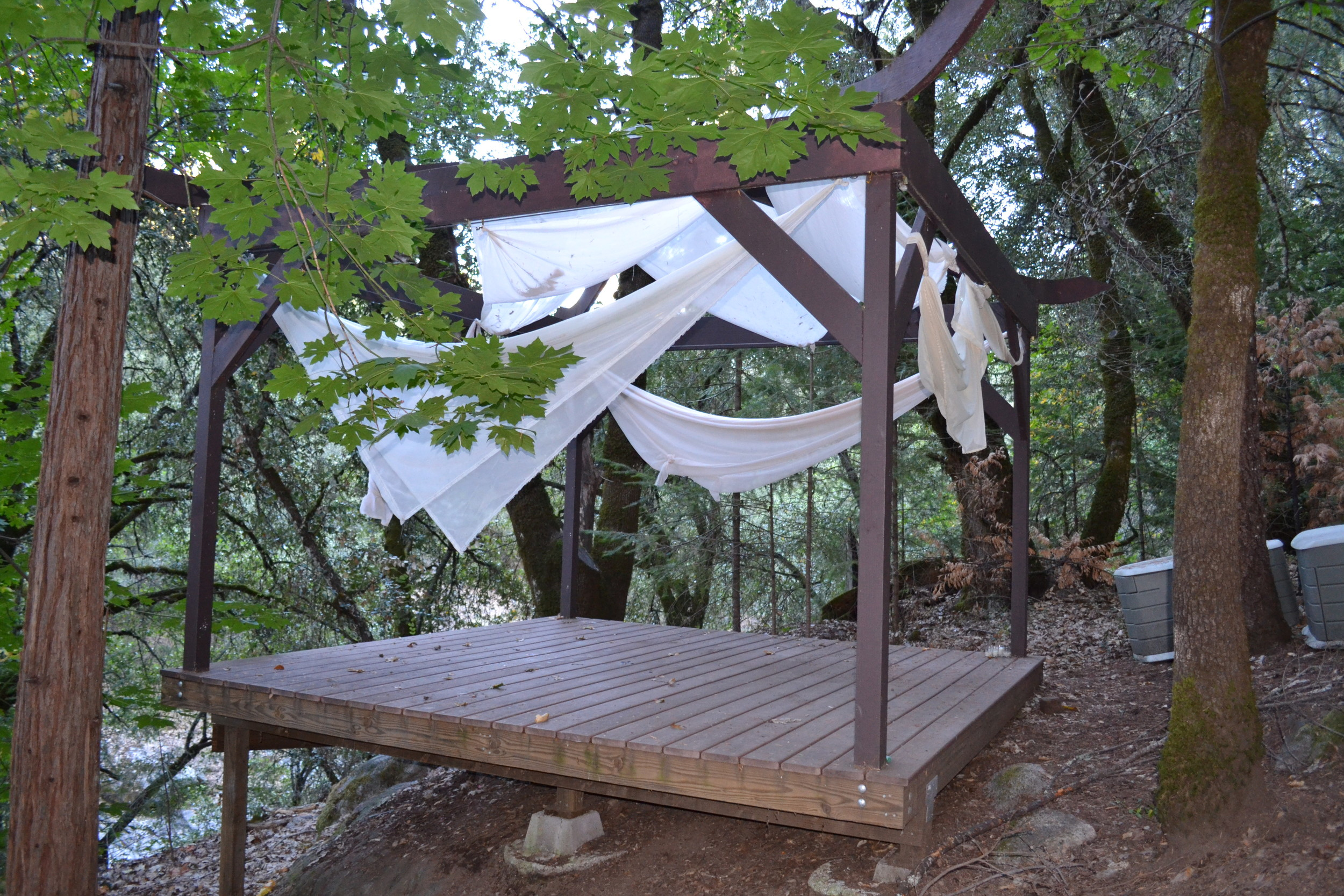 Camp Augusta Tea Pagota