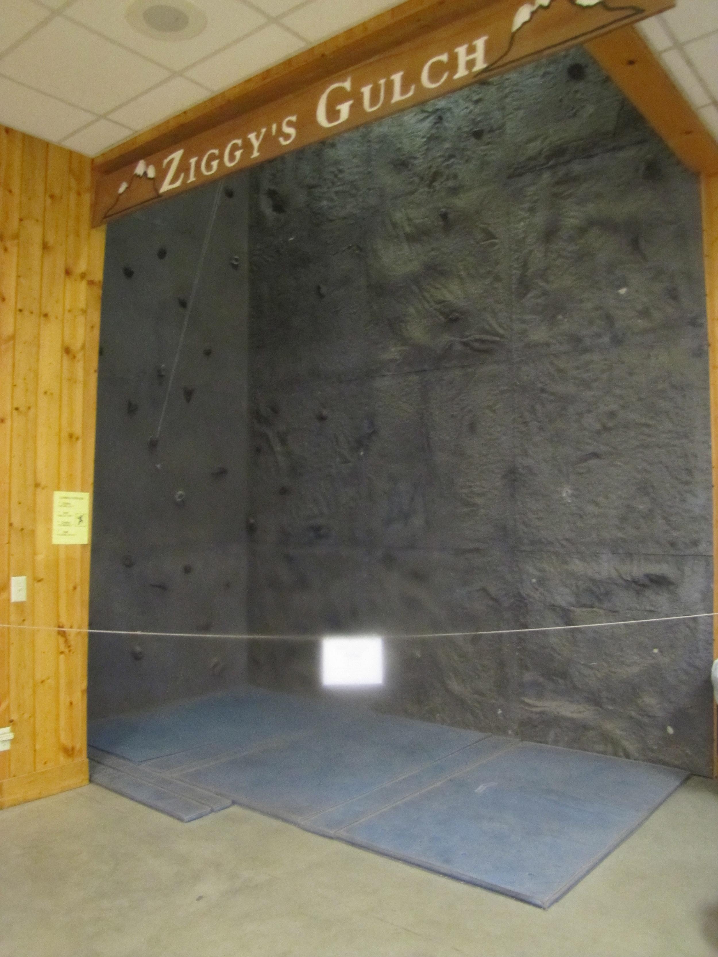 Camp Tecumseh Indoor Climbing