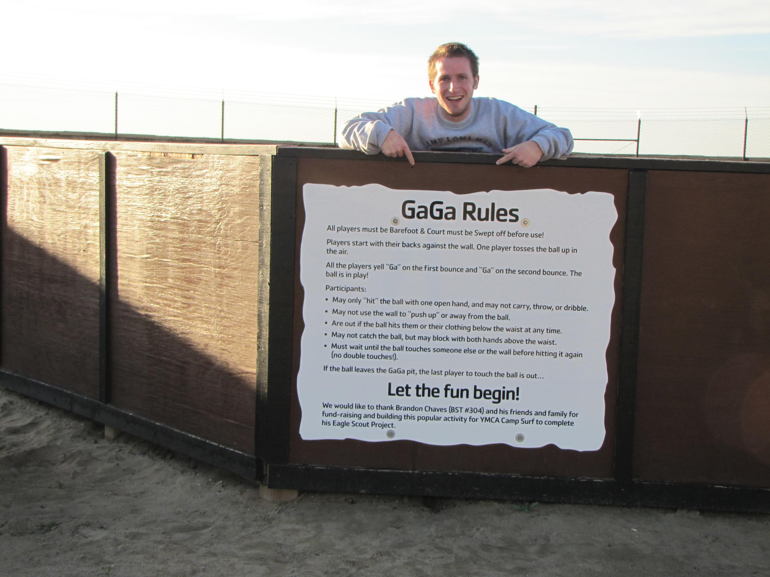 Gaga Rules Camp Surf