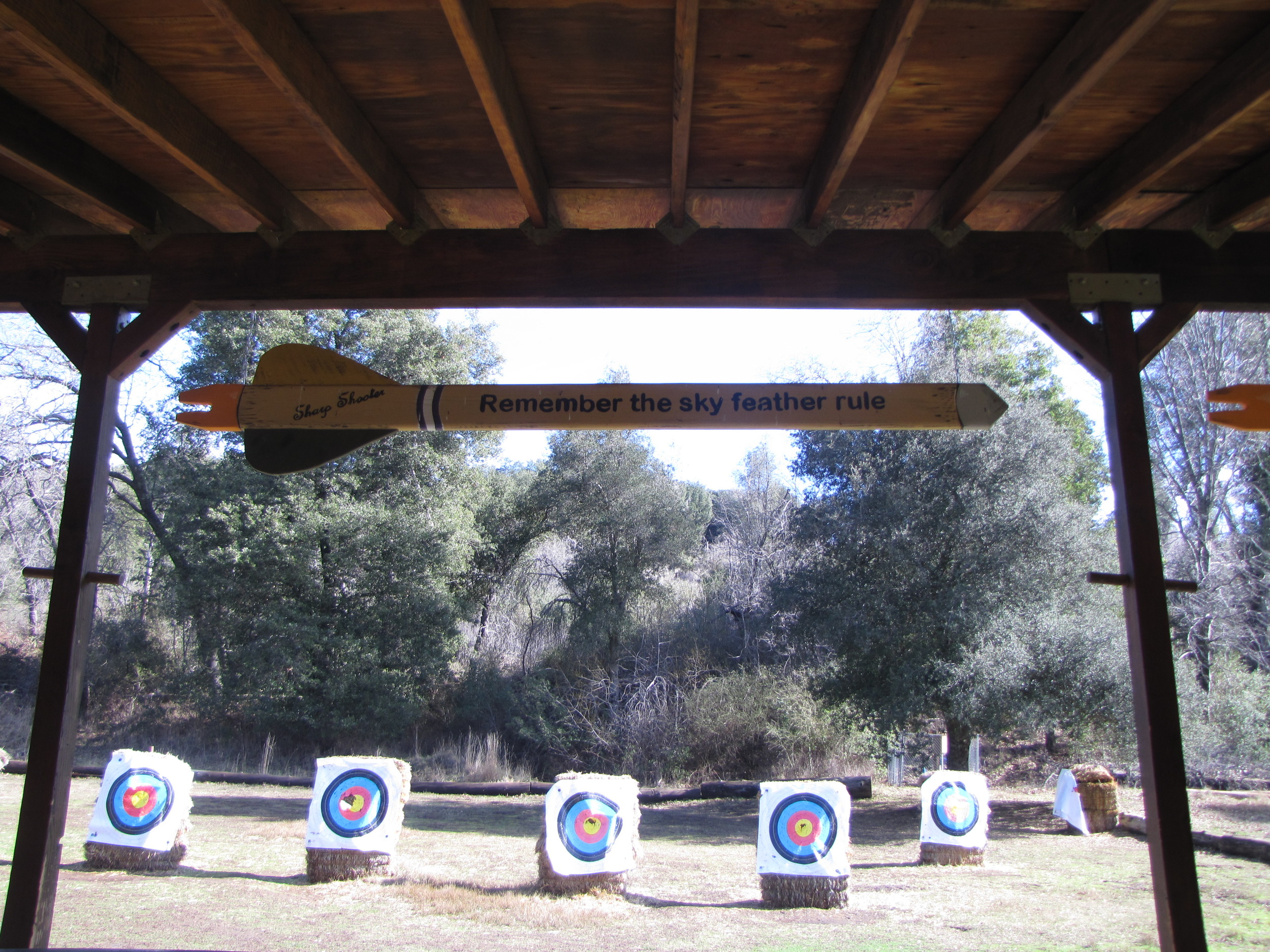Archery Rules Camp Marston
