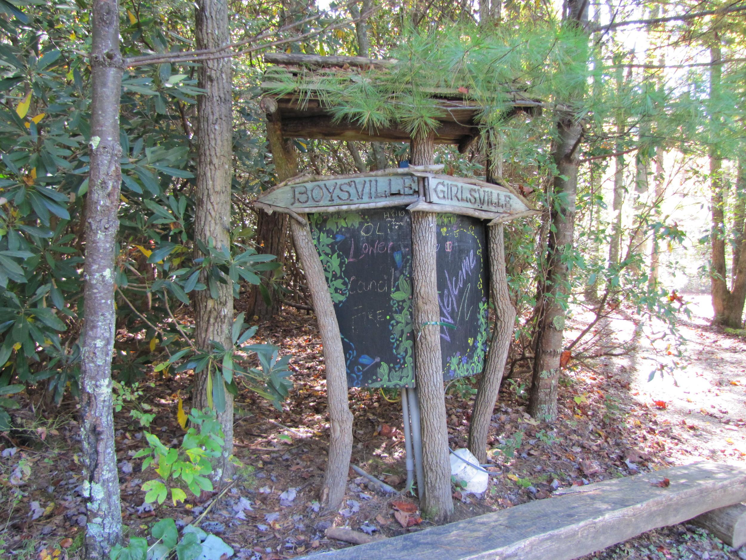 Announcement Black Boards Green River Preserve