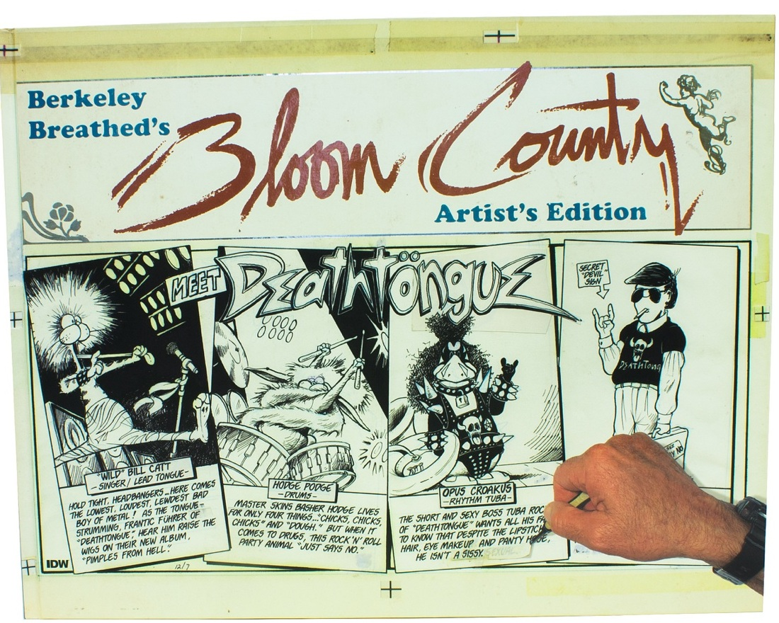 Berkeley Breathed Bloom County Artist's Edition