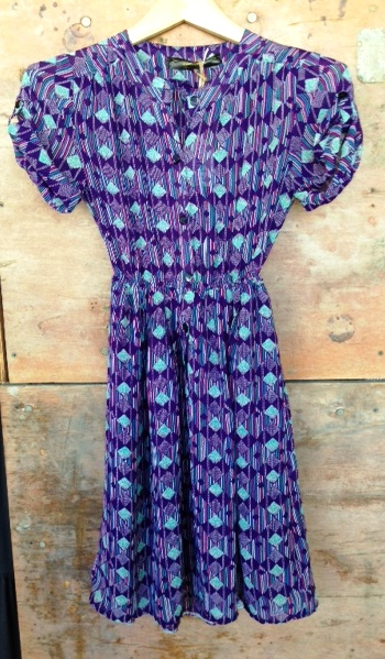purple turquoise geo dress.JPG