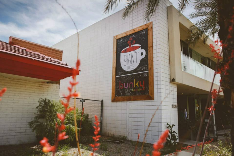 Giant Coffee, Bunky Boutique Share Space