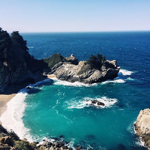 Julia Pfieffer State Beach