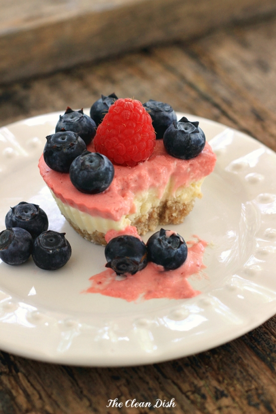 Mini Marscapone Berry Cakes from  Texanerin Baking