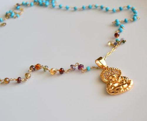 Buddha Bling Necklace