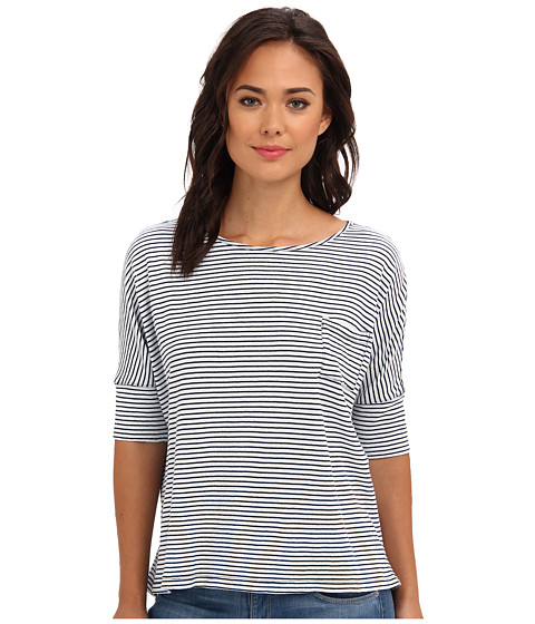 Striped Boatneck Tee