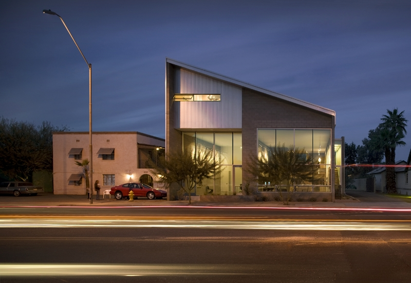 The Max and Lucy building. Image courtesy of Chris Nieto