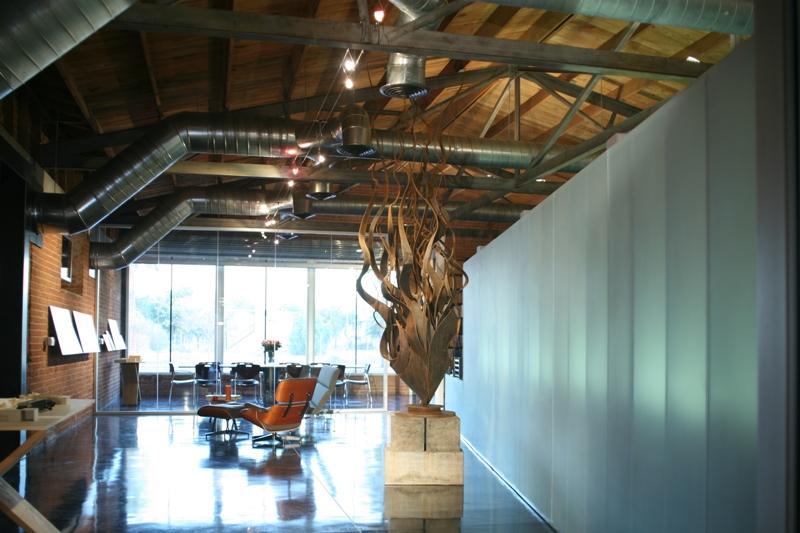The original headquarters of merzproject. Image courtesy of Chris Nieto